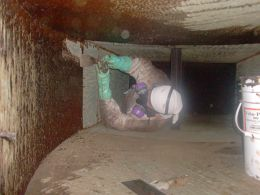 Toilet Exhaust Duct Cleaning